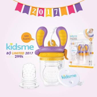 Bộ túi nhai chống hóc 4 tháng tuổi Kidsme Limited Edition 2017