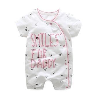 Body đùi First Movement size cho bé 3-18 tháng Smile for Daddy
