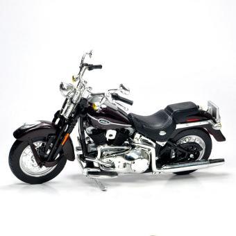 MÔ HÌNH TỈ LỆ 1/18 Harley Davidson FLSTCI SOFTAIL SPRINGER CLASSIC(ĐEN)- MAISTO