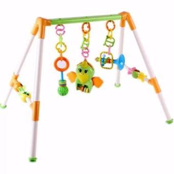 Xà treo đồ vật ngộ nghĩnh cho bé yêu (1 ~ 18 tháng tuổi) (Baby PlayGym) (Xanh lá nhạt)