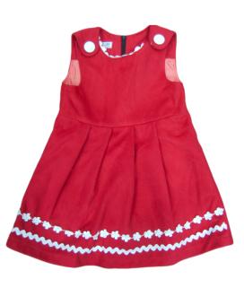 Váy dạ lót lụa Shopconcuame (Đỏ)