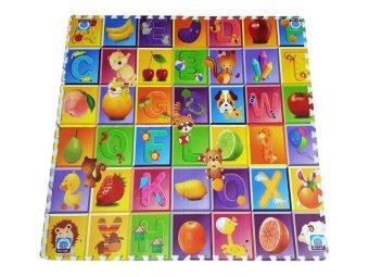 Thảm xốp trẻ em 4 miếng 60x60cm hoạt hình 4