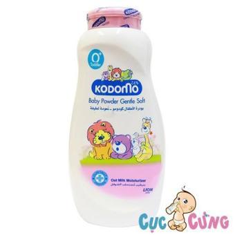 Phấn dưỡng ẩm cho trẻ Kodomo 200g - Gentle Soft (hồng)