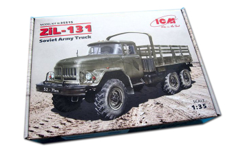 Mô hình lắp ráp xe quân sự 1/35 Russian Army Truck Zil-131 - ICM