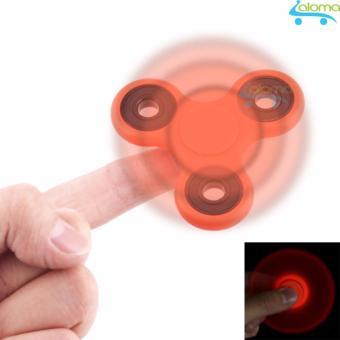 Con quay thư giãn giảm stress bằng kim loại Hand Fidget Spinner (Red)