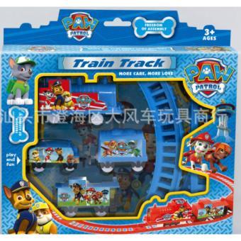 Đồ chơi trẻ em đường ray tàu minion2