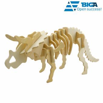 Bộ Ghép Xương Khủng Long Triceratops 3D US04525