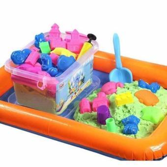 Bộ bể phao khuôn cát nặn cho bé