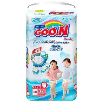 Tã quần Goon Super Jumbo XXL34 (15- 25kg)