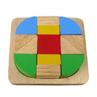 Xếp hình sáng tạo bằng gỗ Winwintoys 68172