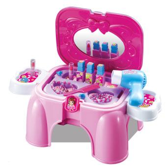 Bộ đồ chơi trang điểm dạng ghế ngồi thu gọn Kids Kitchen (Hồng)