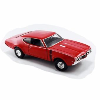 Xe mô hình V&G OLDSMOBILE 442 (1968) RED 1:24 WELLY