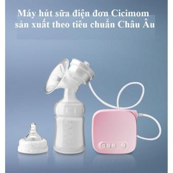 Máy hút sữa điện đơn cao cấp Cicimom
