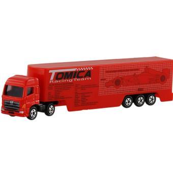 Xe container mô hình Tomica RacingTeam Transporter (Đỏ)