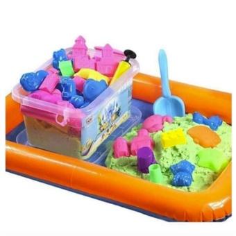 Bộ khuôn cát nặn vi sinh 5+ cho bé thỏa sức sáng tạo