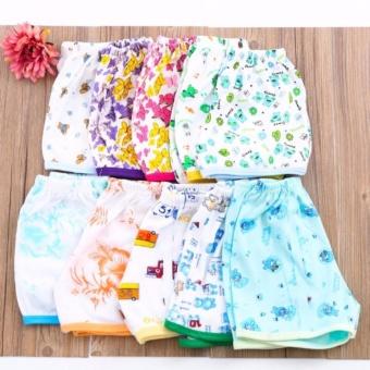 Set 10 quần hoa đáng yêu cho bé gái Dma store