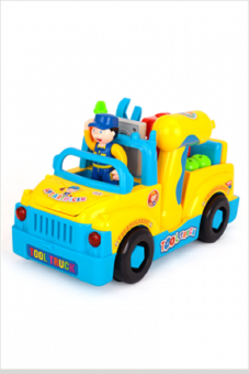 Đồ chơi Huile Toy - Ô tô cơ khí Bé tập làm kỹ sư sửa chữa ô tô - Huile Toys 789