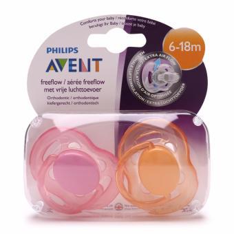 Ty ngậm Silicone thông khí Philips AVENT 6 - 18 tháng tuổi