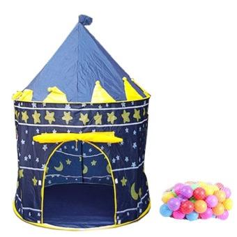 Bộ lều bóng hình lâu đài kèm 50 quả bóng nhựa phi 8