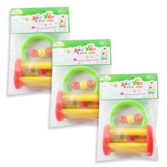 Bộ 3 đồ chơi Xúc xắc trẻ em A- Xúc xắc lồng
