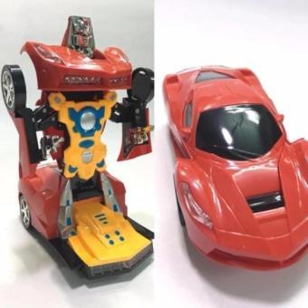 Xe Ô tô biến hình thành Robot chạy pin (mẫu 2017)