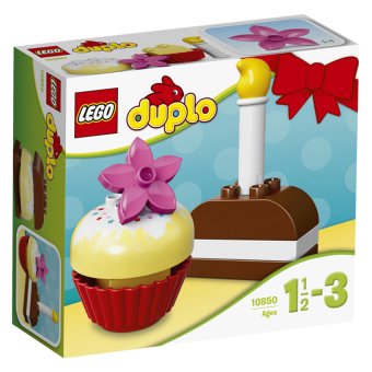 Hộp Lego Duplo 10850 Bánh kem đầu tiên 8 chi tiết
