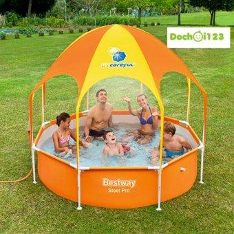 Bể bơi gia đinh khung kim loại Bestway 56432