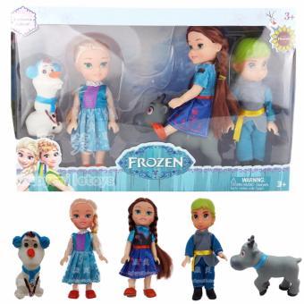 Bộ búp bê Frozen (Elsa, Anna, Olaf, Kristoff)