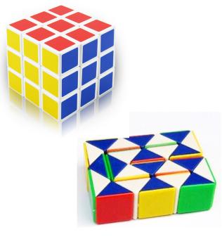 Bộ 2 bộ xếp hình khối lập phương