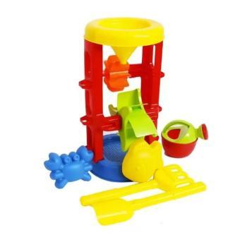 Bộ đồ chơi xúc cát có guồng quay 8