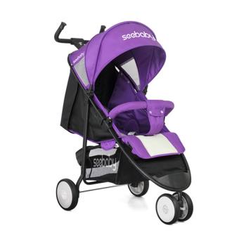 Xe đẩy trẻ em SeeBaby Q5 (Tím)