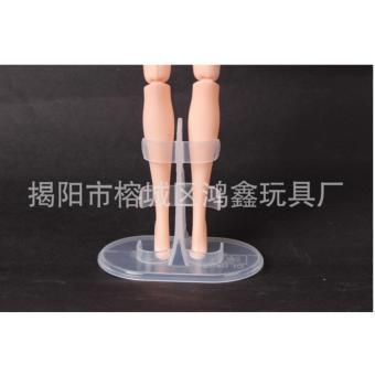 bộ 3 chân đế búp bê kẹp chân