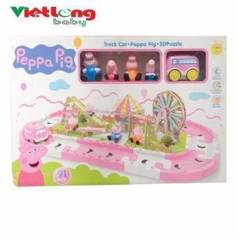 Bộ đồ chơi công viên của gia đình heo pepa pig
