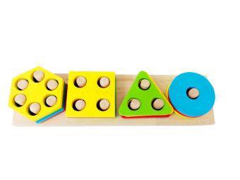 Lắp ráp hình học 5 Tottosi Toys