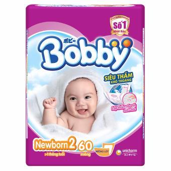 Tã Bobby Newborn2 60 miếng