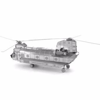 Xếp hình 3D kim loại MÁY BAYCHINNOOK CH 47 ALCC(Xám)