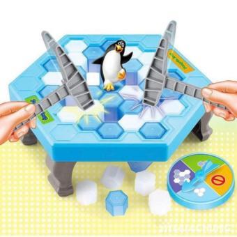 Bộ đồ chơi phá băng - bẫy chim cánh cụt