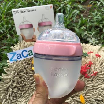 Bình Sữa Silicone Comotomo 150ml (Hồng) Chính Hãng