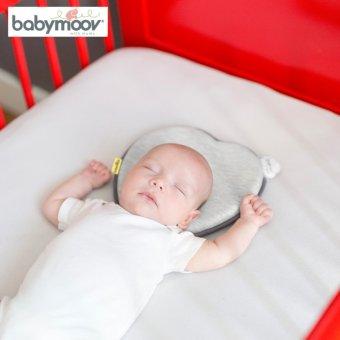 Gối chống bẹt đầu cho trẻ Babymoov BM14299 (ghi)