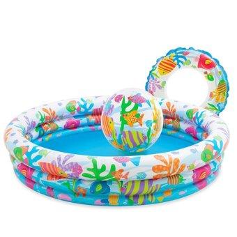 Bể bơi 3 in 1 cho bé Intex