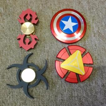 Spinner Iron Man EDC Tri-Spinner cho Người Lớn Trẻ Em giảm stress tăng sự tập chung