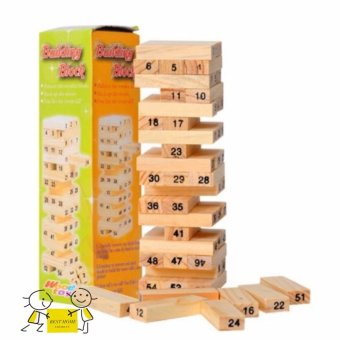Đồ chơi rút gỗ 54 thanh Cupid Kid CP02