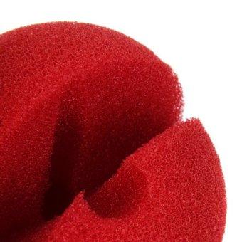 Foam Clown Nose Costume Party Fancy Dress Cosplay (Red) - Intl