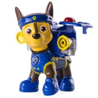Đồ chơi chó đeo khăn Paw Patrol Hero Pup Toy - Chase 02 (Xanh dương)