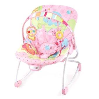 Ghế rung đa năng có nhạc cho bé Mastela 6903 (hồng)