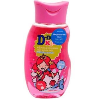 Sữa tắm gội toàn thân trẻ em Thái Lan Dnee kids - Cho trẻ trên 3 tuổi (Hồng - 200ml)