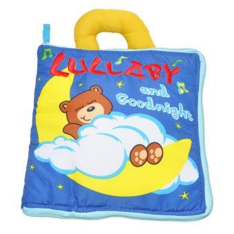 Sách vải Jollybaby Lullaby & Goodnight cho bé chơi mà học
