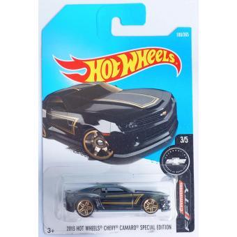 Xe ô tô mô hình tỉ lệ 1:64 Hot Wheels 2017 2013 Hot Wheels Chevy Camaro Special Edition 180/365 ( Màu Đen )
