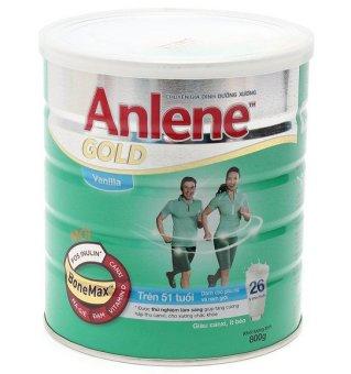 Sữa bổ sung canxi Anlene Gold 800g