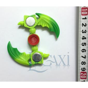 Đồ Chơi Con Xoay Tròn Hand Fidget Spinner 2 cánh 90-120 giây Legaxi HS36